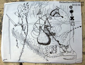 Collaborative Drawing: 2012-06-05-Rail Road Crossing Kites