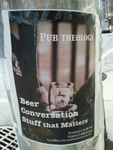 Beer. Conversation. Stuff that matters. Tuesdays, 6:30pm People's Brewery
